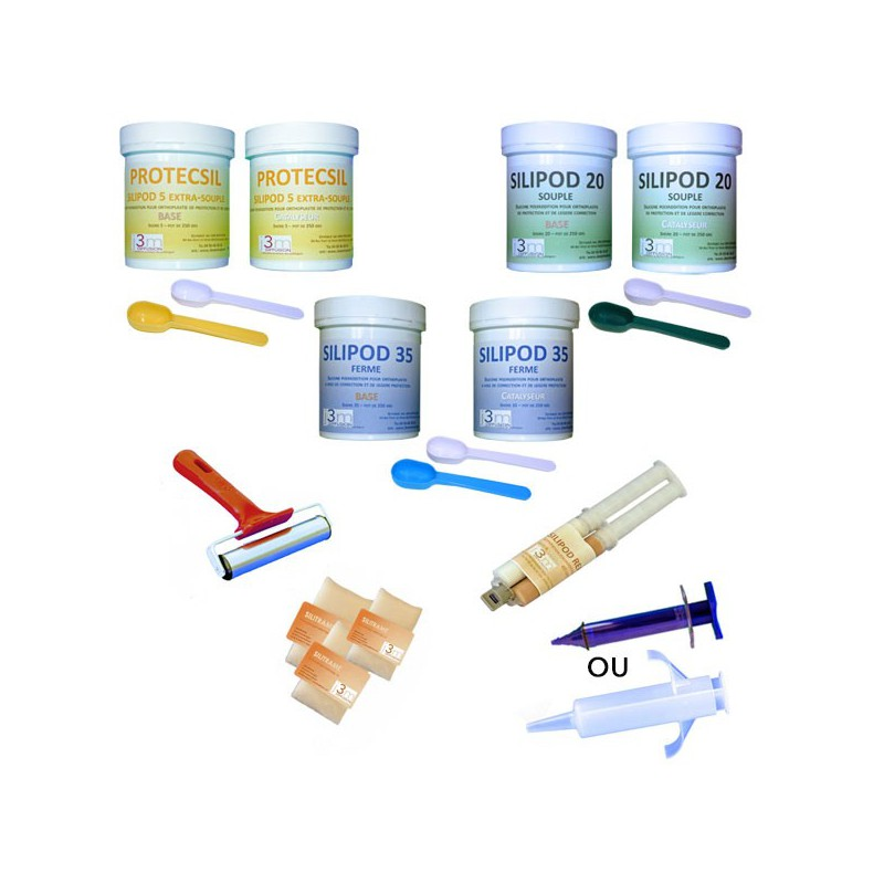 KIT DECOUVERTE SILICONES